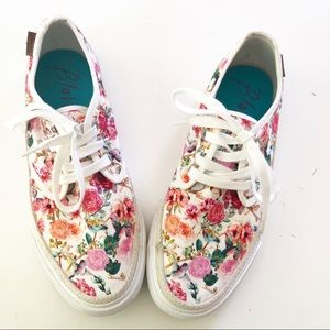 Blowfish Floral Canvas Sneakers
